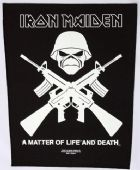 Iron Maiden - 'Crossed Guns' Giant Backpatch